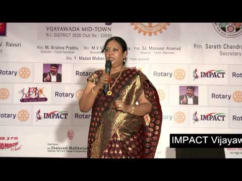 Indian Culture Greatness| Sravanthi |TELUGU IMPACT Vijayawada 2014