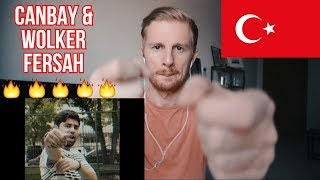 Canbay & Wolker   Fersah (Official Video)  TURKISH RAP REACTION