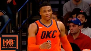 OKC Thunder vs New York Knicks 1st Half Highlights | 01/21/2019 NBA Season