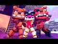 Minecraft Vs FNAF: Robin GOES TO FNAF WORLD! DAY 1 (Superheroes! Roleplay)