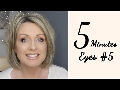 5 Minutes Eyes #5 / Mature, Hooded Eyes