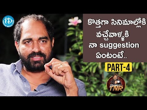 Director Krish Exclusive Interview Part #4 || Frankly With TNR | Talking Movies With iDream