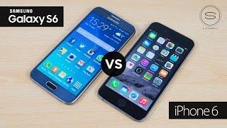 Samsung Galaxy S6 vs Apple iPhone 6 | SuperSaf TV