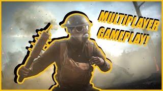 Battlefield 1 Multiplayer Gameplay - LET ME GET WARMED UP! | Battlefield 1 Close Alpha