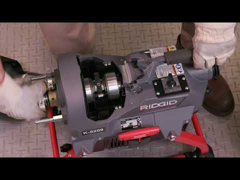 RIDGID K-5208 Clutch Assembly Change