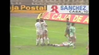 Albacete 11 - Salud 1. Temp 89/90. Jor. 17.