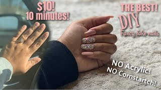 THE BEST DIY FAKE NAILS! | HOW TO APPLY THEM AND MAKE THEM LAST!