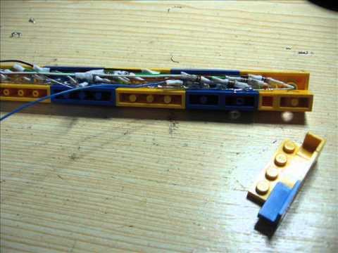 Beleuchtung für Fahrgeschäft Südsee Traum aus LEGO von AirTrip2010