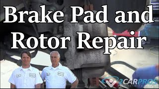 Rear Brake Pad - Rotor Change Hyundai Sonata