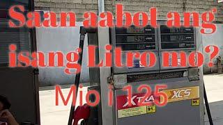 MIO i 125 Gasoline Consumption