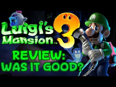 Luigi's Mansion 3 Review! (Spoilers) - ZakPak
