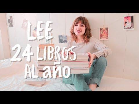 LEER 24 LIBROS AL AÑO  | Lee más y mejor en 2019