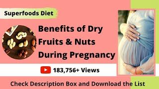 Benefits of Dry Fruits During Pregnancy | How much Dry Fruits to Eat During Pregnancy | Shared List