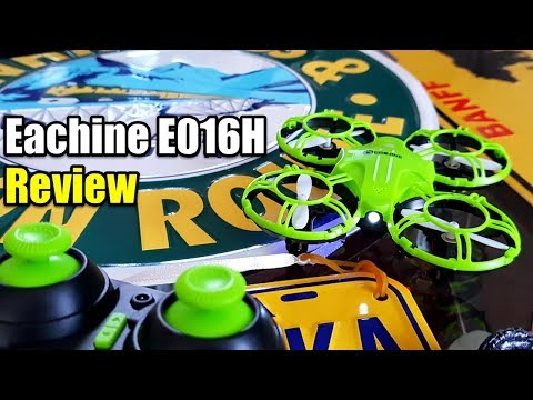 EACHINE E016H REVIEW WITH TEST FLIGHT PERFECT FOR LEARNING TO FLY A DRONE