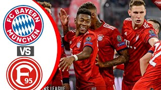 Bayern Munich Vs Dusseldorf● Telekom Cup 2019● All Goals And Extended Highlights