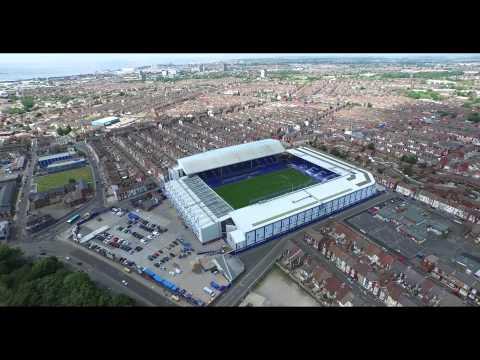 Anfield Stadium and Goodison Park