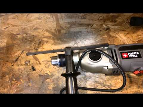 Porter Cable 7 Amp Hammer Drill Review PC70THD