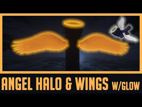 Angel Halo Wings Wearable In Survival Vanilla Glow In The Dark Of Minecraft 1 13 X Model Reality Elytra Reality Minecraft Texture Pack Zerochan has 5,402 halo anime images, and many more in its gallery. angel halo wings wearable in