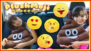GIANT POOP EMOJI PILLOW - PlushMoji Emoji Pillows