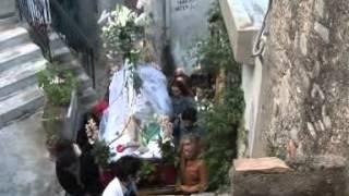 preview picture of video 'caulonia settimana santa sabato santo caracolo  anno 2012'