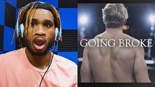 Logan Paul - GOING BROKE (Antonio Brown Diss Track)   REACTION VIDEO