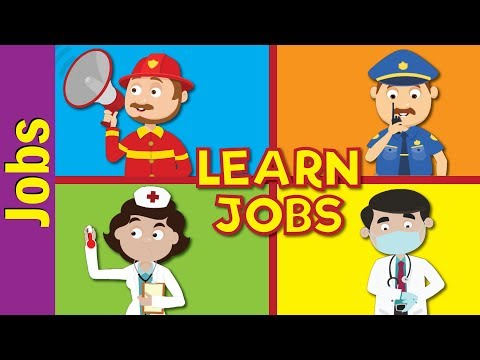 Jobs and Occupations for Kids | What Does He/She Do?