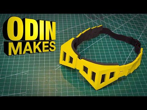 Odin Makes: Shota Aizawa's Eraser Head Goggles from My Hero Academia