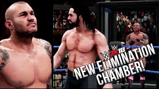 WWE 2K18 First Gameplay Footage! Orton vs Cena, New Elimination Chamber & more!