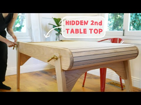 Building a Table for Jigsaw Puzzle Lovers