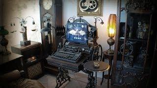 Steampunk Computer, PC, Workstation