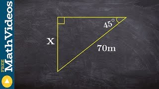 Find The Missing Side Of A Right Triangle Without A Calculator