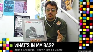 <b>John Flansburgh</b> They Might Be Giants  Whats In My Bag