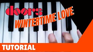 Wintertime Love - The Doors - Tutorial and Cover, Vox Continental Piano Bass