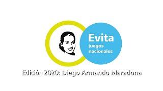 Pelota paleta Juegos Evita 2020