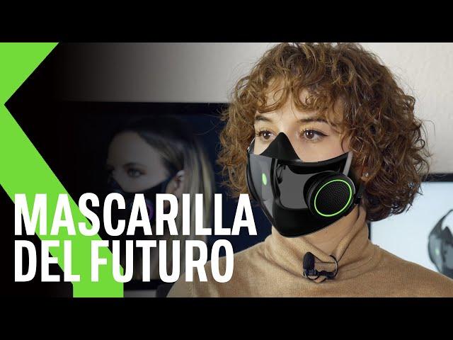 Project Hazel, 😷 Mascarilla de Razer reutilizable, transparente, con luces RGB, micrófono y altavoz