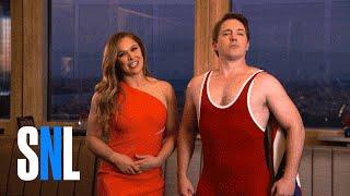 SNL Host Ronda Rousey Lets Beck