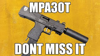 Masterpiece Arms MPA30T MasterPiece Arms Pistol 9mm 4 5