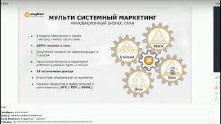EasyBizzi маркетинг за 20 минут easy bizzi презентация маркетинга биткоин криптовалюта