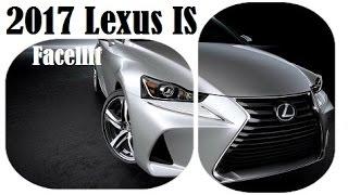 2017 Lexus IS Facelift Sedan, world premiere at the 2016 Beijing Auto Show