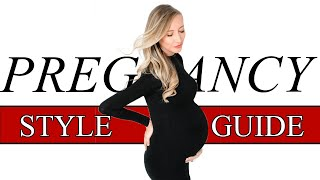 PREGNANCY STYLE TIPS | How to Dress Cute While Pregnant!