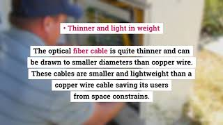 What are the Advantages of Fiber Optic Cables