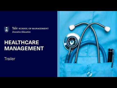 Healthcare Management | Yale SOM Executive Education Online Program Trailer