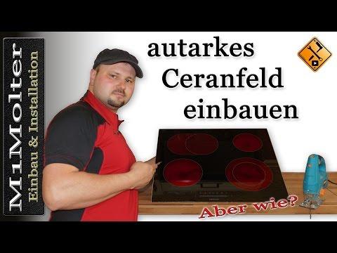 autarkes Ceranfeld - Kochfeld einbauen von M1Molter