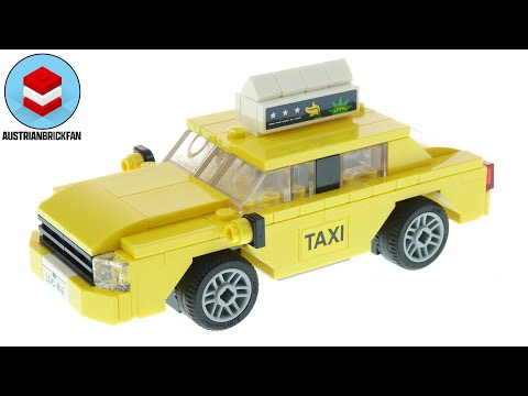 Vidéo LEGO Creator 40468 : Le taxi jaune
