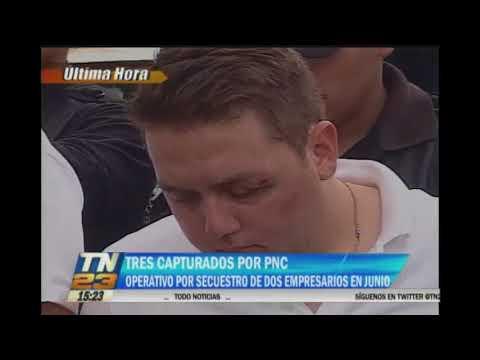 PNC capturo a tres sujetos por secuestro de dos empresarios
