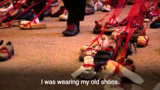 If The Shoe Fits Artist Weaves Memories Together