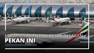 Dampak Pandemi yang Berkepanjangan, Maskapai Emirates PHK Besar-besaran Pekan Ini