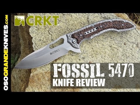 CRKT Ikoma Fossil (5470) Folding Knife Review | OsoGrandeKnives