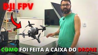 Como ficou a caixa para o nosso Drone DJI FPV Combo MOR - Como Curiosidades do Mundo