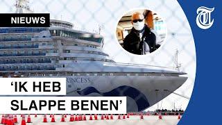 Nederlanders al een week in quarantaine op coronacruise